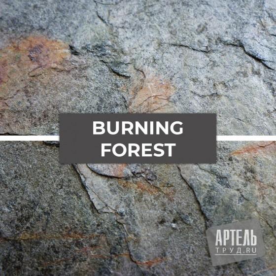 Каменный шпон Slate Lite Burning forest