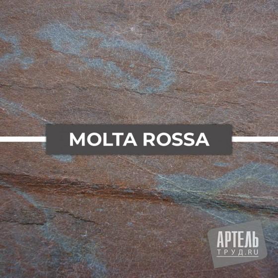 Каменный шпон Slate Lite Molto Rosa