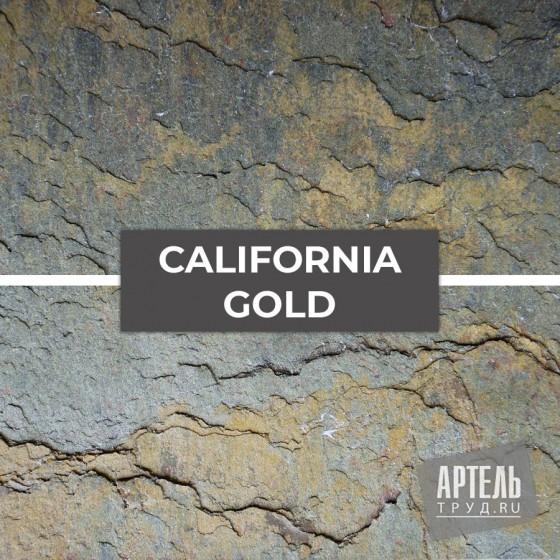Каменный шпон Slate Lite California gold