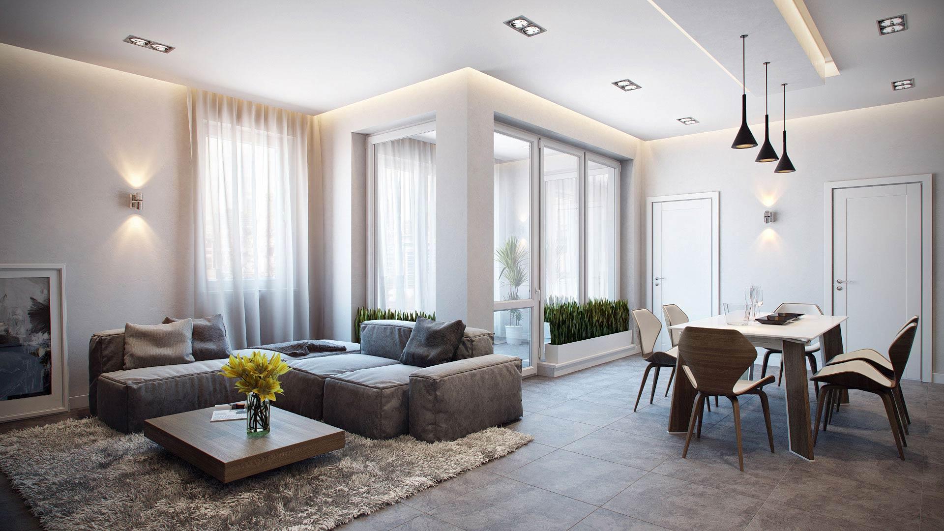 Ремонт квартиры в стиле минимализм - наш любимый стиль!