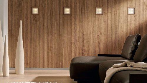 Деревянные стеновые панели из шпона