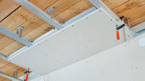 Монтаж стен и потолков из гипсокартона